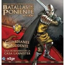 BATALLAS DE PONIENTE: GUARDIANES DE OCCIDENTE  (LANNISTER) (EXPANSIÓN)