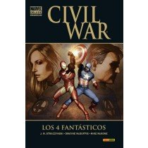 CIVIL WAR: LOS 4 FANTÁSTICOS (MARVEL DELUXE)