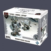 DUST TACTICS: MEDIUM PANZER WAKER – LUTHER, LUDWIG, LOTHAR (EXPANSIÓN)