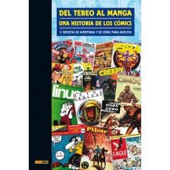 DEL TEBEO AL MANGA Nº 9: REVISTAS DE AVENTURAS Y DE CÓMICS PARA ADULTOS