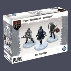 DUST TACTICS: AXIS HERO PACK (EXPANSIÓN)