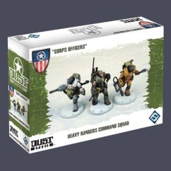 DUST TACTICS: CORPS OFFICERS (EXPANSIÓN)