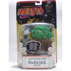 KAKASHI HATAKE SUBSTITUTION JUTSU-NARUTO