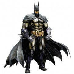PLAY ARTS KAI ACTION FIGURE BATMAN ARKHAM ASYLUM-BATMAN ARMORED