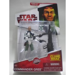 THE CLONE WARS COMMANDER GREE