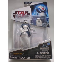 THE LEGACY COLLECTION EPISODE V CONCEPT ART SNOWTROOPER